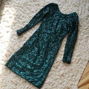 Flirty Sequenced Dress